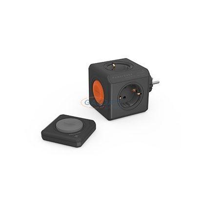 ALLOCACOC távvezérelhető elosztó kocka szett, 4x2P+F, 16A, 250V, fekete