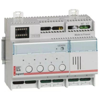 LEGRAND 002602 Céliane My Home moduláris világítási kapcsoló, 4x16A, 6M