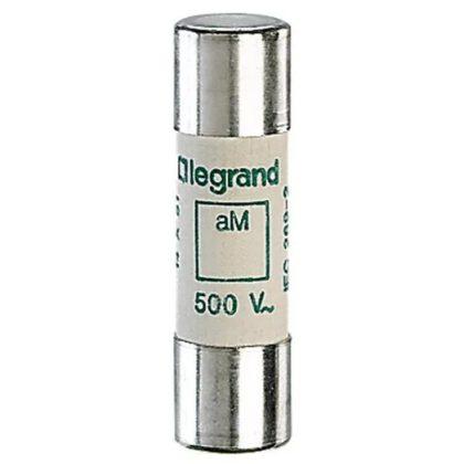 LEGRAND 014016 Lexic hengeres olvadóbiztosító 16A aM 14 x51 ütőszeg nélkül