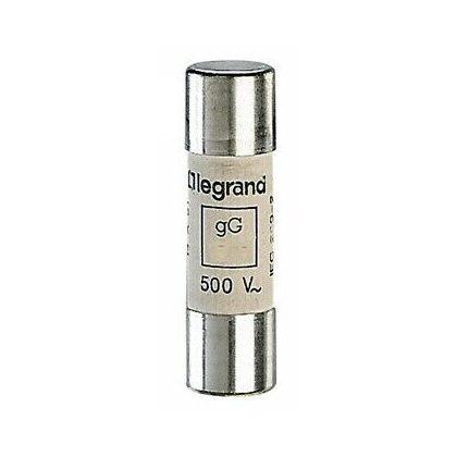 LEGRAND 014316 Lexic hengeres olvadóbiztosító 16A gG 14 x51 ütőszeg nélkül