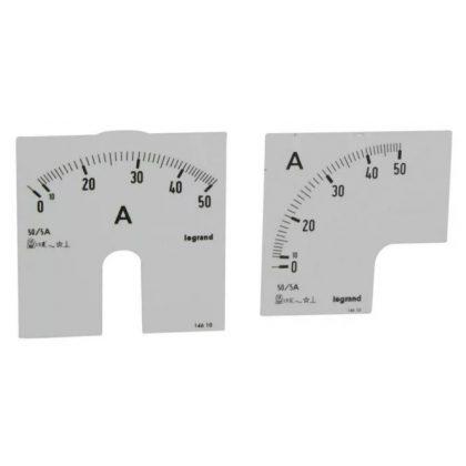 LEGRAND 014610 Lexic A mérőskála 0-50A
