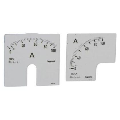 LEGRAND 014613 Lexic A mérőskála 0-100A