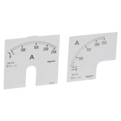 LEGRAND 014616 Lexic A mérőskála 0-250A