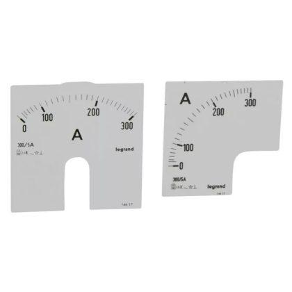 LEGRAND 014617 Lexic A mérőskála 0-300A
