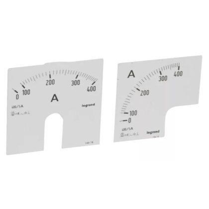 LEGRAND 014618 Lexic A mérőskála 0-400A