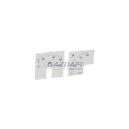 LEGRAND 014620 Lexic A mérőskála 0-600A