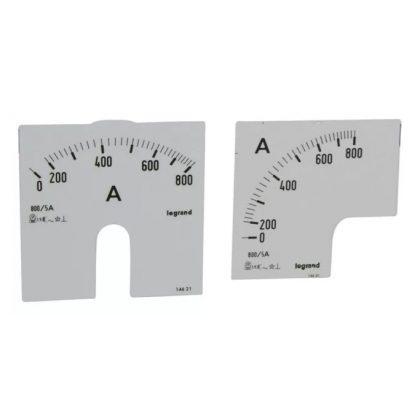 LEGRAND 014621 Lexic A mérőskála 0-800A