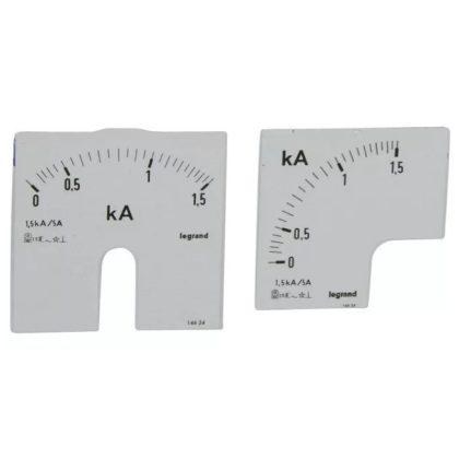 LEGRAND 014624 Lexic A mérőskála0-1500A