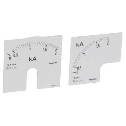LEGRAND 014625 Lexic A mérőskála0-2000A