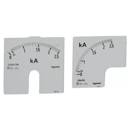 LEGRAND 014626 Lexic A mérőskála 0-2500A