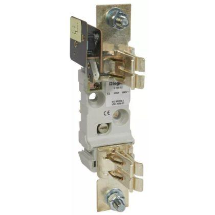 LEGRAND 019952 késes aljzat 3 1P 630A M12 kalapsínre is rögzíthető mikrokapcsolóval