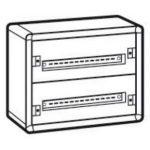 LEGRAND 020002 XL3 160 2 sor 48 mod fém fali előszerelt elosztószekrény