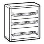LEGRAND 020003 XL3 160 3 sor 72 mod fém fali előszerelt elosztószekrény