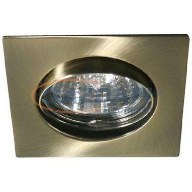 KANLUX süllyesztett spot lámpatest, Gx5,3, MR16, 50W, patinált réz, IP20, 12V