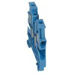 LEGRAND 037109 Viking3 nulla 4mm2 2-2 be-/kimenet sorkapocs kék 1 emeletes csavarral