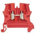 LEGRAND 037131 Viking3 speciális 4mm2 sorkapocs piros 1 emeletes csavarral