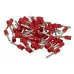 LEGRAND 037763 Starfix 1 mm2 érvéghüvely piros, zacskós kiszerelés