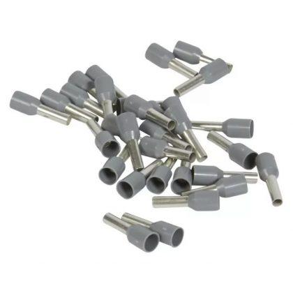LEGRAND 037766 Starfix 2,5 mm2 érvéghüvely szürke, zacskós kiszerelés