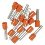 LEGRAND 037767 Starfix 4 mm2 érvéghüvely narancs, zacskós kiszerelés