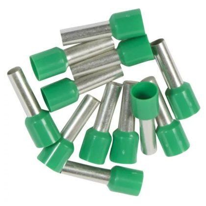 LEGRAND 037768 Starfix 6 mm2 érvéghüvely zöld, zacskós kiszerelés