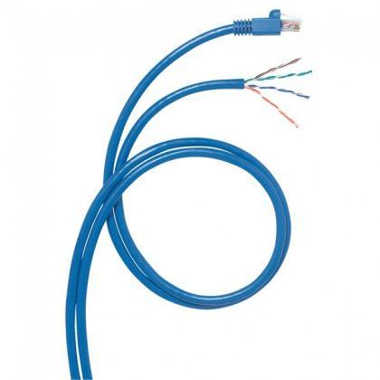 LEGRAND 051757 konszolidációs patch kábel RJ45-AWG Cat6 árnyékolatlan (U/UTP) AWG24 LSZH (LSOH) kék d: 6,2 mm 8 méter LCS3