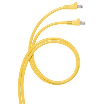 LEGRAND 051781 patch kábel RJ45-RJ45 Cat6A árnyékolt (S/FTP) PVC 2 méter sárga d: 6,2mm AWG27 LCS3