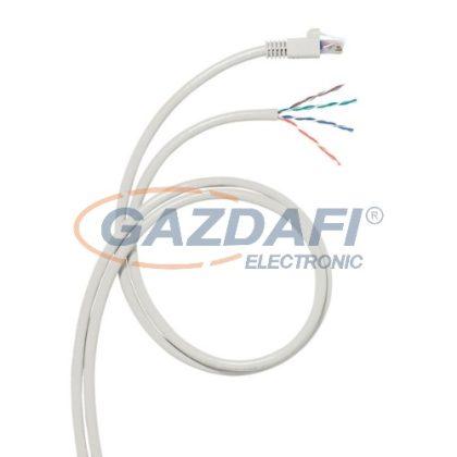 LEGRAND 051794 konszolidációs patch kábel RJ45-AWG Cat5e árnyékolt (F/UTP) AWG24 LSZH (LSOH) szürke d: 6,5 mm 15 méter LCS3