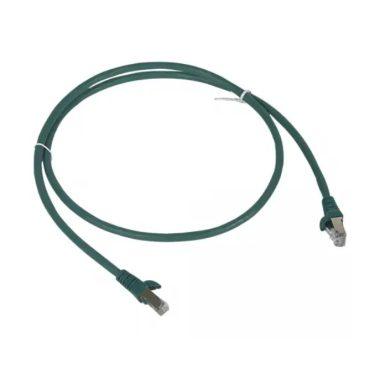 LEGRAND 051850 patch kábel RJ45-RJ45 Cat6 árnyékolt (F/UTP) LSZH (LSOH) 1 méter zöld d: 6mm AWG26 LCS3