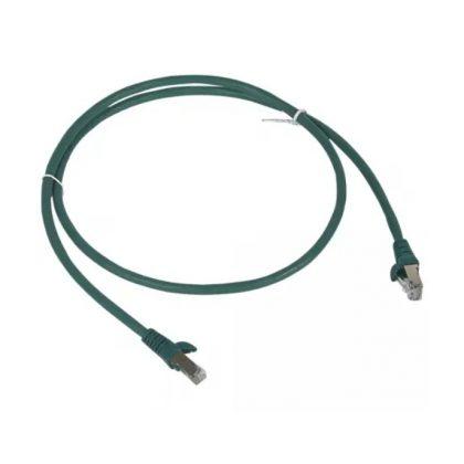 LEGRAND 051851 patch kábel RJ45-RJ45 Cat6 árnyékolt (F/UTP) LSZH (LSOH) 2 méter zöld d: 6mm AWG26 LCS3