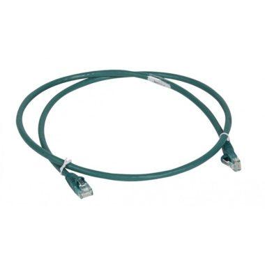 LEGRAND 051860 patch kábel RJ45-RJ45 Cat6 árnyékolatlan (U/UTP) LSZH (LSOH) 3 méter zöld d: 6mm AWG24 LCS3