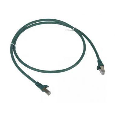 LEGRAND 051866 patch kábel RJ45-RJ45 Cat6A árnyékolt (S/FTP) LSZH (LSOH) 1 méter zöld d: 6,2mm AWG27 LCS3