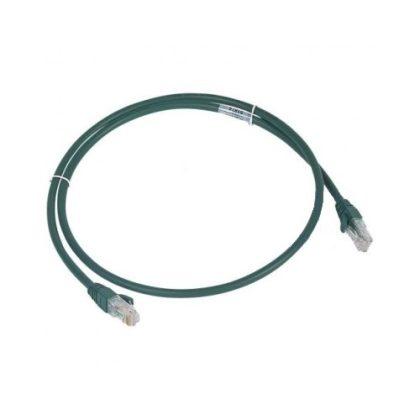LEGRAND 051877 patch kábel RJ45-RJ45 Cat6A árnyékolatlan (U/UTP) LSZH (LSOH) 5 méter zöld d: 6,2mm AWG26 LCS3