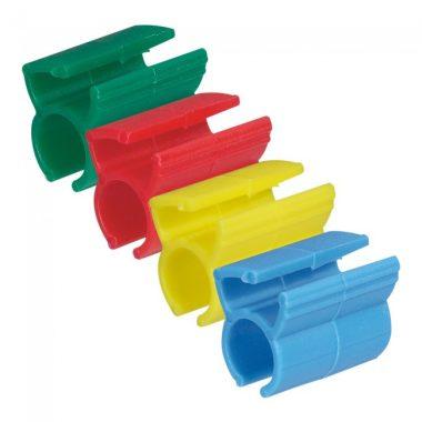 LEGRAND 051890 jelölő patch kábelekhez piros zöld sárga kék összesen 200 db LCS3