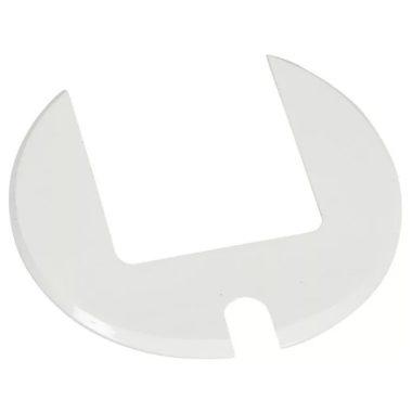 LEGRAND 054061 Keret üres asztali kábelrendezőkhöz RAL 9003 fehér Cat. 6A adathálózatok
