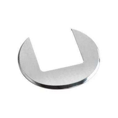 LEGRAND 054063 Keret üres asztali kábelrendezőkhöz Rozsdamentes acél