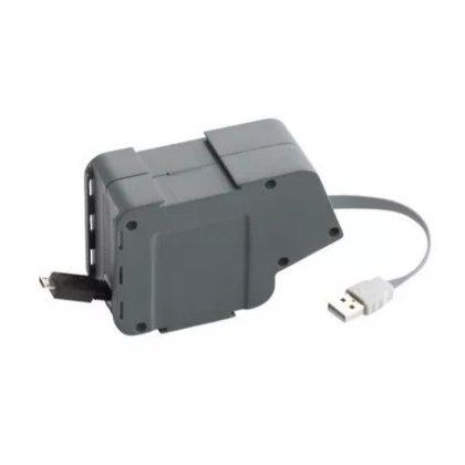 LEGRAND 054067 Összeszerelt modul lapos kábellel USB/mikro USB
