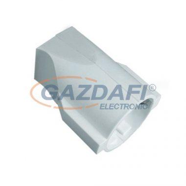 LEGRAND 054350 2P+F lengő csatlakozóaljzat, műanyag, fehér, hátsó bekötésű, gyv