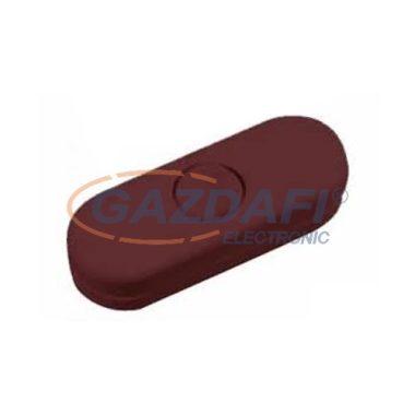 LEGRAND 061382 zsinórközi kapcsoló, matt barna 2 pólusú 2A, 250V
