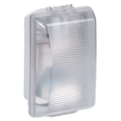LEGRAND 062400 Plexo szögletes hajólámpa E27, 75W, IP55 normál izzós