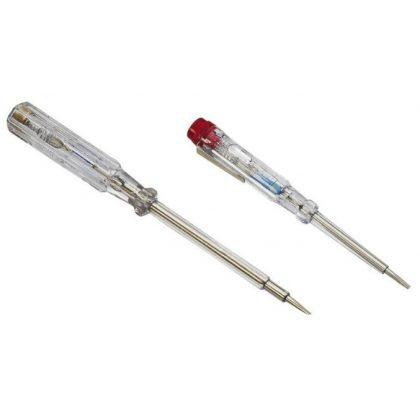 GAO 0638H Feszültségvizsgáló készlet, 2db-os (140mm+190mm) , áttetsző, 100-250V