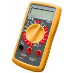 GAO 0654H Digitális mérőkészülék, szakadásvizsgálóval, fekete / sárga