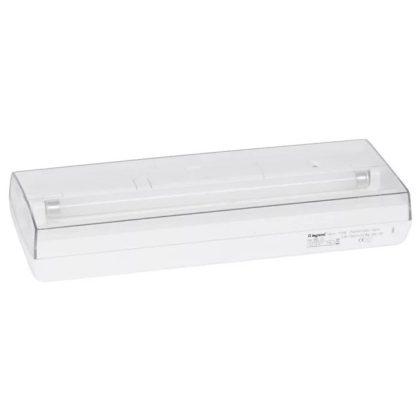 LEGRAND 066000 S8 tartalékvilágítási lámpatest 8W, fénycsöves,1 óra 140 lm