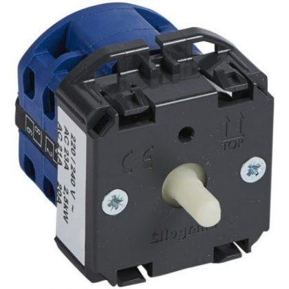 LEGRAND 067424 Céliane ventillátor vezérlő - 4 fokozatú
