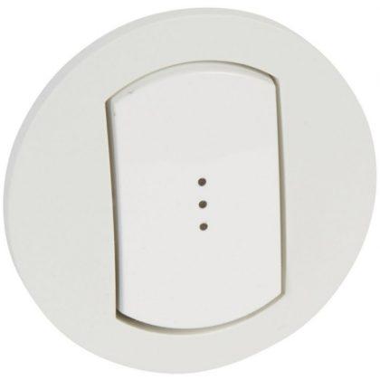 LEGRAND 067803 Céliane széles billentyű, fényjelzős, IP44