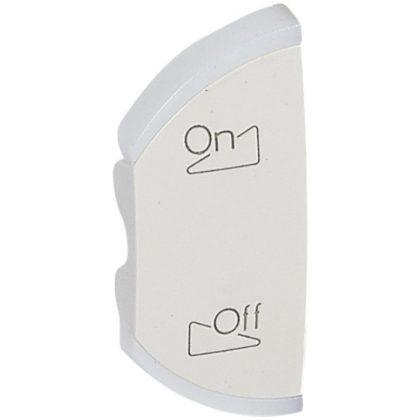 LEGRAND 068150 Céliane My Home hangerő vezérlés burkolat, bal oldal, 1 mod, fehér
