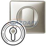 LEGRAND 068309 Céliane burkolat 2 állású kulcsos kapcsolóhoz, titán