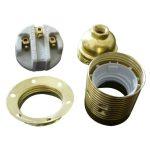 GAO 0706H Foglalat E27, csillárfoglalat fém