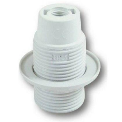 GAO 0717H csillárfoglalat gyűrűvel, E14, 40W, fehér, 230V