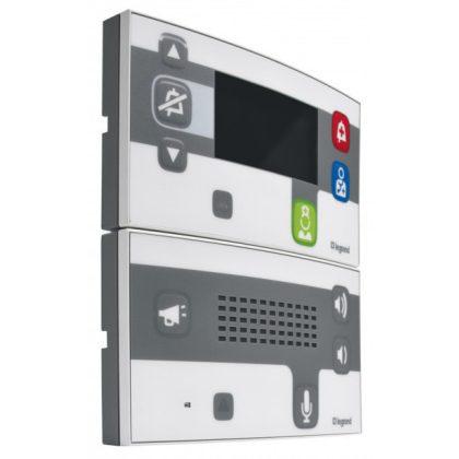 LEGRAND 076608 Auidó hívóegység digitális nővérhívó rendszerhez, antimikrobiális