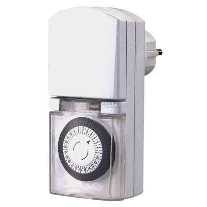 GAO 0768H Mechanikus napi időkapcsoló, 30 perc, max. 48db/nap, max: 3680W, 250V, 16A